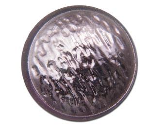 Vintage Metallic Light Purple Glass Cabochons 11mm (4) cab518