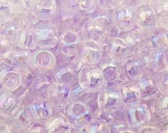 Dyed Rainbow Lavender MistToho Seed Bead 8/0 TR-08-477