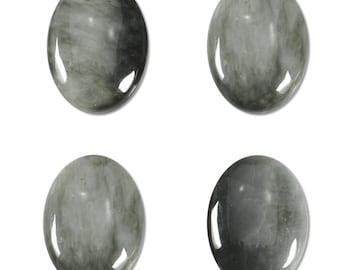 Dakota Stones Chrysoberyl Gray Cat's Eye 18x13mm Oval Cabochon Gemstones CAB-CAT18x13OV
