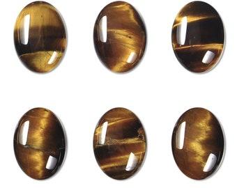 Dakota Stones Tiger Eye 14x10mm Oval Cabochon Gemstones. CAB-TGE14x10OV
