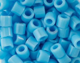 OP Turquoise Blue Miyuki Delica Seed Bead 8/0 6.8G Tube DBL-0725-TB