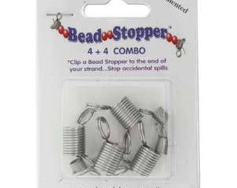 Bead Stopper Combo Pack 8pc/2 Sizes BS44COMBO