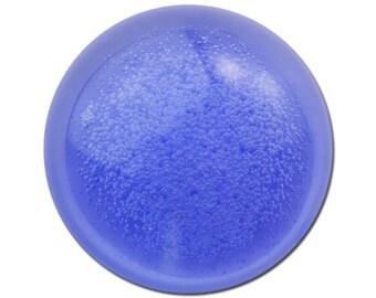 Vintage Purple Acrylic Translucent Cabochon with Bubbles 30mm (2) cab793B