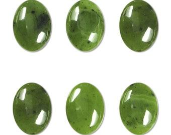 Dakota Stones Jade 18X13mm Oval Cabochon Gemstones. (1) CAB-JAD18x13OV