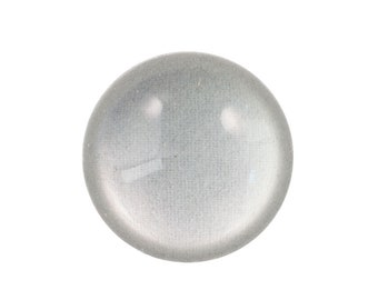 Clear Acrylic Magnifying Cabochons 25mm (4) cab882A