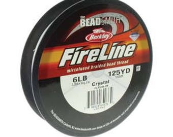 6lb Fireline Crystal Thread .006in/0.15mm 125yd/114m