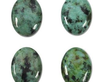 Dakota Stones African Turquoise 18x13mm Oval Cabochon Gemstones. CAB-ATQ18X13OV