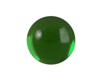 Transparent Turmaline Foiled Glass Round Cabochons 13mm (4) cab2006T