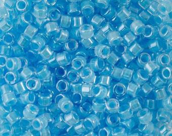 Luminous Ocean Blue Miyuki Delica Seed Bead 11/0 7.2G Tube DB2039-TB