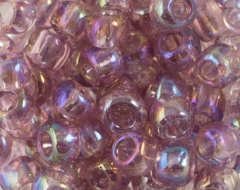 Transparent Rainbow Light Amethyst Toho Seed Bead (8g) 6/0 TR-06-166
