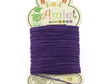 Royal Purple Toho Amiet Polyester Thread 22yrds/20m