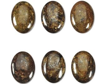 Dakota Stones Bronzite 14x10mm Oval Cabochon Gemstones. CAB- BRZ14x10OV