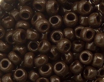 "Opaque Oxblood Toho Seed Bead (8g) 8/0 2.5"" Tube TR-08-46/C"