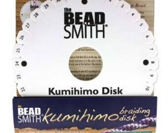 "Beadsmith 6"" Round Kumihimo Disk KD600"