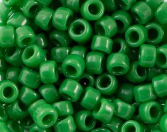 "Opaque Shamrock Toho Seed Bead 8/0 2.5"" Tube TR-08-47D/C"