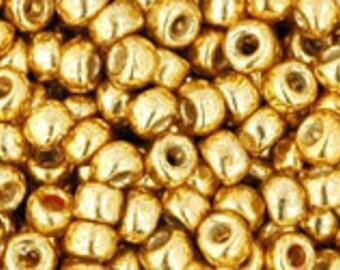 PermaFinish Galvanized Starlight Toho Seed Bead (8g) 8/0 TR-08-PF557