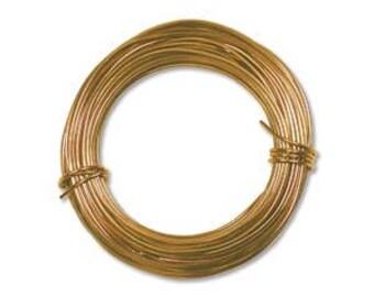 Aluminum Wire Gold Color 18ga/39 Feet PDW18-GO