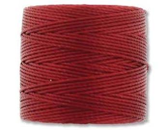 S-Lon Bead Cord Red Hot 77yrds. SLBC-RH