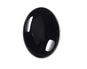 Dakota Stones Onyx 25x18mm Oval Cabochon Gemstones.  CAB-ONX25x18OV