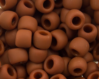 Opaque Frosted Terra Cotta Toho Seed Bead (8g) 6/0 TR-06-46LF