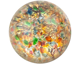 Red Foil Opal Round Cabochon 18mm (1) cab3008F