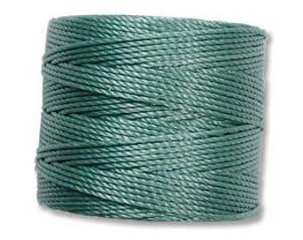 S-Lon Bead Cord Vintage Jade 77yrds. SLBC-VJD