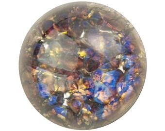 Amethyst Foil Opal Round Cabochon 18mm (1) cab3008E