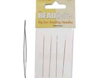 """Beadsmith Big Eye Beading Needle 2.125"""" 4pk"""