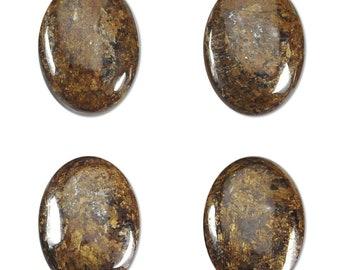 Dakota Stones Bronzite 25x18mm Oval Cabochon Gemstones. CAB- BRZ25x18OV