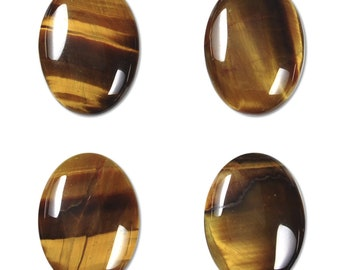 Dakota Stones Tiger Eye 18x13mm Oval Cabochon Gemstones. CAB-TGE18x13OV