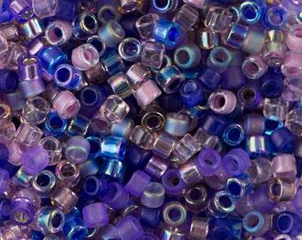 Lilacs Mix Miyuki Delica Seed Bead 11/0 7.2G Tube DB-MIX01-TB