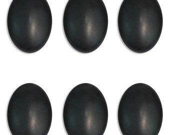 Dakota Stones Matte Onyx 14x10mm Oval Cabochon Gemstones.  CAB-MOX14x10OV