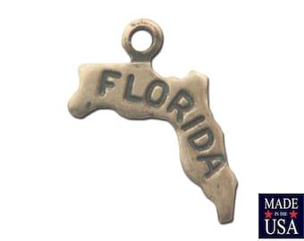 Brass Ox Tiny Florida State Charm Drops (2) chr204E