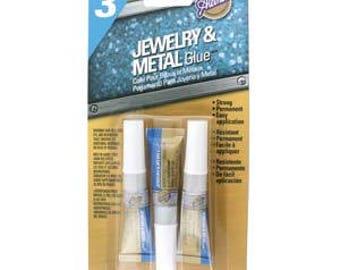 Aleene's jewelry & Metal Glue. 3tube/0.1fl oz each.
