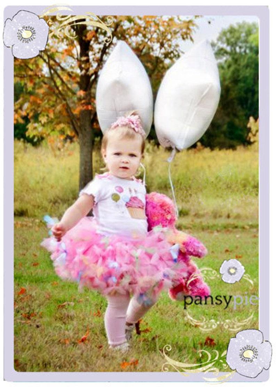 Baby Birthday Tutu Dress Birthday Pettiskirt Toddler Birthday Dress 9 12 18 Months