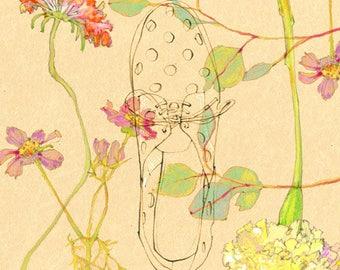 "Rachel Comey Shoe - 8"" x 10"" Print"