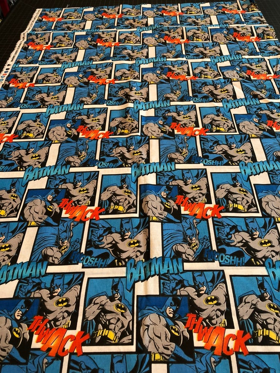 CAMELOT FABRICS JUSTICE ACTIVATED BADGES MARVEL COMIC BOOKS SUPERHEROES LICENSED