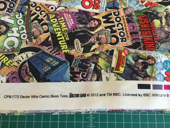 Bbc Doctor Who Exterminate 100/% cotton fabric by the yard