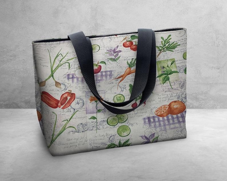 Shoulder Bag  Tote Bag  Book Bag  Carry All Shipping Vegetable Salad Bag Free U.S