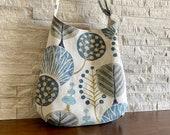 One Handle Hobo Bag - Pyper Basketweave Slate
