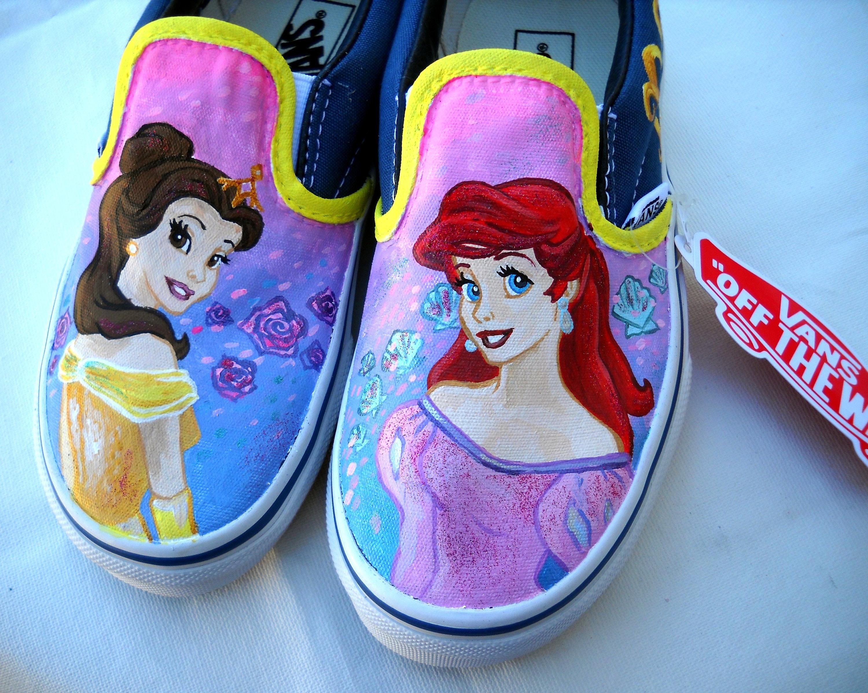 vans disney princess