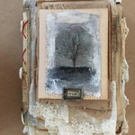 Online Workshop Mixed Media Altered Book Online class.......Altered book