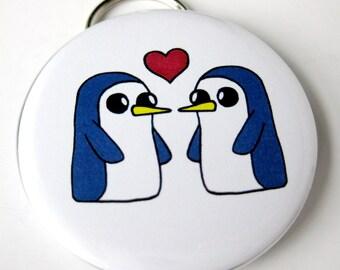 Adventure Time Inspired Bottle Opener Keychain Gunter The Penguin