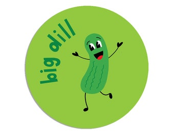 Pickle Scratch & Sniff Stickers Pack of 24