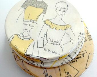 Coasters // Sewing Pattern // Vintage Pattern