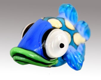 Aardvark's BECKY The Spotted Shovelnose Fish Bead