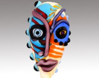 Aardvark's WEIRD SELF OWN Mask Bead