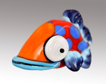 Aardvark's SID The Spotted Shovelnose Fish Bead