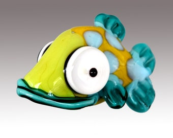Aardvark's PHIN The Spotted Shovelnose Fish Bead