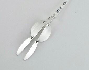 Mod Sterling Silver Earrings - E2940